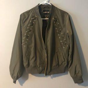 Green Express jacket - lightweight and never worn